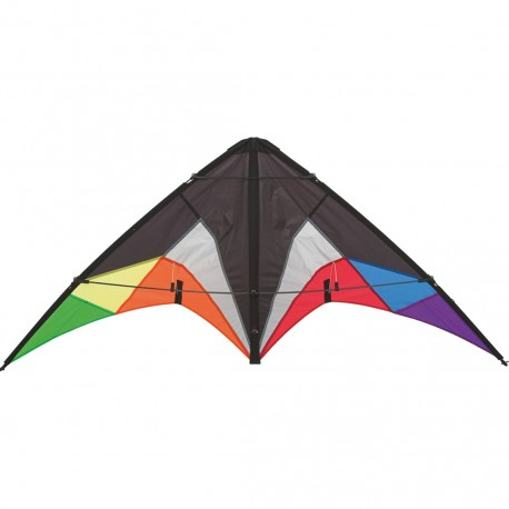 Kite HQ INVENTO delta Quickstep II Black Rainbow